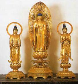 阿弥陀三尊像