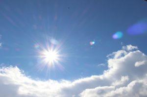 正午の空画像
