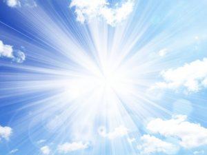 太陽の光画像
