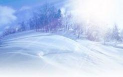 雪景色画像
